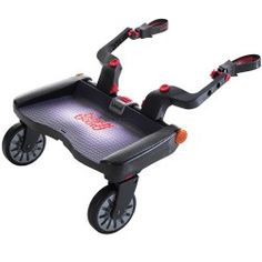 With the BuggyBoard-Maxi™ connected to your #stroller or #pram you have the perfect combination for stress-free outings. Comfortable, safe, fun & speedy