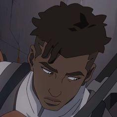 I need help why is so fine! Black Cartoon Characters, Black Girl Cartoon, Black Girl Art, Cartoon Art, Black Anime Guy, Aesthetic Art, Aesthetic Anime, Matt Holt Voltron, Photo Manga