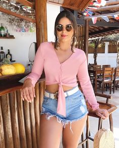 Sexy Jeans, Summer Outfits, Casual Outfits, Badass Outfit, Stylish Girls Photos, Girl Fashion, Womens Fashion, Girls Jeans, Fitness Fashion
