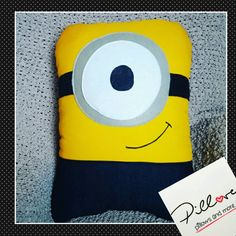 Minion Pillow by Pillove on Etsy