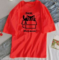 Tshirts Shhh… Hoomans! Red Tee Fabric: Polycotton Sleeve Length: Short Sleeves Pattern: Printed Multipack: 1 Sizes: S (Bust Size: 34 in Length Size: 23 in)  XL (Bust Size: 40 in Length Size: 26 in)  XS (Bust Size: 32 in Length Size: 22 in)  L (Bust Size: 38 in Length Size: 25 in)  M (Bust Size: 36 in Length Size: 24 in)  XXL (Bust Size: 42 in Length Size: 27 in) Country of Origin: India Sizes Available: XS, S, M, L, XL, XXL   Catalog Rating: ★4 (504)  Catalog Name: Urbane Elegant Women Tshirts CatalogID_1981052 C79-SC1021 Code: 813-10765534-