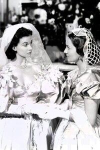 Gone With The Wind || Melanie talks to her new sister-in-law Scarlett (formerly O'Hara) Hamilton.
