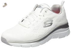 Skechers Women's Fashion Fit - Style Chic White Casual Shoe 7 Women US - Skechers sneakers for women (*Amazon Partner-Link)