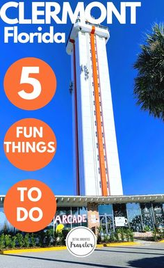 Discover 5 fun things to do in Clermont, Florida, a fantastic central Florida city perfect for family fun. Florida City, Old Florida, Florida Vacation, Florida Travel, Central Florida, Travel Usa, Clearwater Florida, Sarasota Florida, Florida Beaches