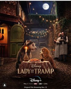 At the Expo Disney has revealed the first trailer for the live action remake of Lady & The Tramp, starring Tessa Thompson and Justin Theroux. Lady and the Disney Films, Disney Cinema, Disney Pixar, Upcoming Disney Movies, Disney Wiki, Live Action Movie, Action Movies, Disney Live Action Films, New Movies