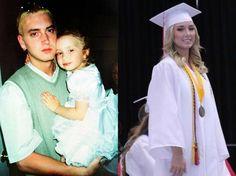 Eminem : Sa fille de 19 ans a bien changé, c'est une bombe