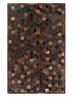 Hand Crafted Cowhide Rug from Apartment for Him on Gilt