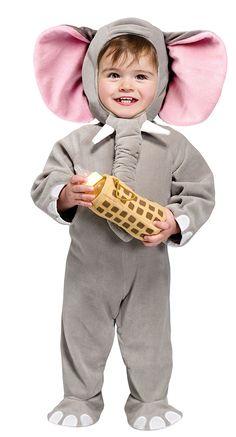 $37.95 Little Elephant Kids Costume #elephantcostume #animalcostumes