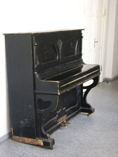 Haunted Object: A Piano, Mysteriously plays notes and songs.