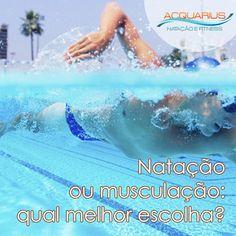 #AcquariusFitness Natação ou musculação: qual melhor escolha? Natação ou musculação Esta é uma pergunta que faz parte do cotidiano de pessoas que pretendem fazer uma atividade física, mas não sabem qual dessas praticar ... Veja mais em http://www.acquariusfitness.com.br/blog/natacao-ou-musculacao-qual-melhor-escolha/ #Natação #VenhapraAcquariusFitness #DicasSobreNatação #EmagreçaFazendoNatação