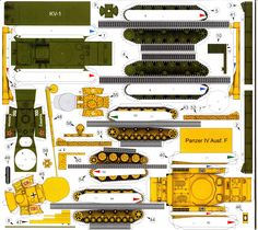 Panzer Iv, Pumpkin Coloring Pages, Cardboard Model, Free Paper Models, Craft Images, Model Tanks, Ww2 Tanks, Pictures To Draw, Origami