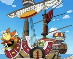 The Thousand Sunny is the second and current ship of the Straw Hat Pirates, built after the Going Merry was destroyed.