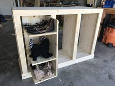 How to Make Shoe Cabinet – Hidden Storage | Woodworking Session