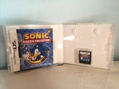 Sonic Classic Collection game opened.
