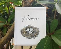 Birds Nest Print on Canvas, Rustic Kitchen Wall Decor, Canvas Wall Art Prints, Kitchen Black and White Art Prints, Unique Dorm Room Decor Rustic Kitchen Wall Decor, Farmhouse Wall Decor, Rustic Wall Decor, Rustic Walls, Bird Prints, Wall Art Prints, Canvas Prints, Rustic Home Design, Nordic Design