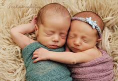 Twin newborns @peekaboophotos.com. Precious!