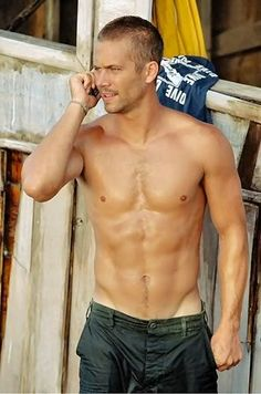 Paul Walker - not sure who you are, but you are HOT!
