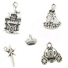 Bijoux Charms 5Pk Princess | Hobbycraft