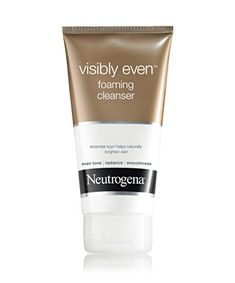 Neutrogena Visibly Even® Foaming Cleanser - what I'm using right now to wash my face #PaulasChoice #GotItFree #BzzAgent