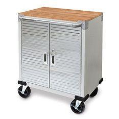 Seville Classics Ultrahd Tall Storage Cabinet Storage