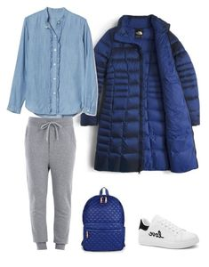 Монохром by irina-o on Polyvore featuring polyvore, fashion, style, The North Face, Love Moschino, M Z Wallace and clothing