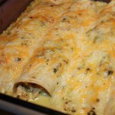 tastycookery | Poblano Chile Enchiladas a la Gringa