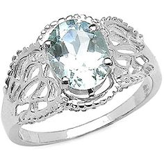 @Overstock - Aquamarine ringSterling silver jewelryClick here for Ring Sizing Charthttp://www.overstock.com/Jewelry-Watches/Sterling-Silver-Oval-cut-Aquamarine-Ring-1.45-mm/4782618/product.html?CID=214117 $54.99