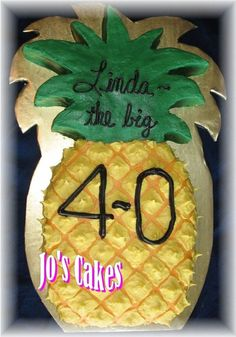 Pineapple Shaped Cake Pull Apart Cupcake Cake Pinapple