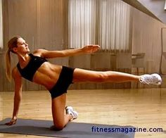 Side Crunch fitness health-and-fitness