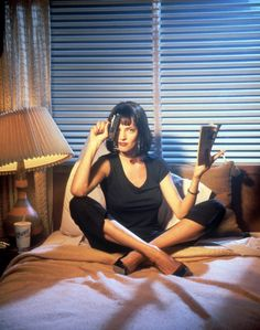 Uma Thurman ... Pulp Fiction