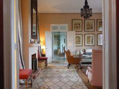 Veere Grenney & David Oliver's rental in Tangier; photo by Ben Pentreath.