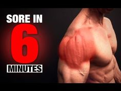 Chest Workout (SORE IN 6 MINUTES!) - YouTube