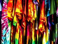 Making Tie Dye Shirts