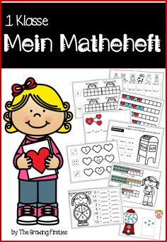 My math booklet for class 1 - Mathematics - Art Education ideas Math Art, Learn German, Math Workshop, Reading Comprehension, Art Education, Mathematics, Booklet, Art Lessons, Teaching