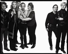 Richard Avedon's, Andy Warhol and members of The Factory