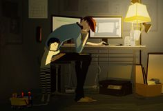 I love you daddy by PascalCampion