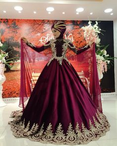 We wish you happiness wedding Muslim Wedding Dresses, Muslim Brides, Pakistani Bridal Dresses, Wedding Dress Trends, Wedding Gowns, Muslim Girls, Bridal Gowns, Hijab Evening Dress, Evening Dresses