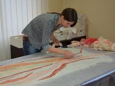 Обучающий видео-курс по валянию платья в технике нунофелтинг, электронная версия, tutorial, felting, nunofelting, DIY
