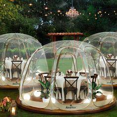 Outdoor Gazebos, Outdoor Spaces, Outdoor Living, Outdoor Decor, Bar Restaurant Design, Deco Restaurant, Restaurant Humor, Restaurant Kitchen, Colorful Restaurant