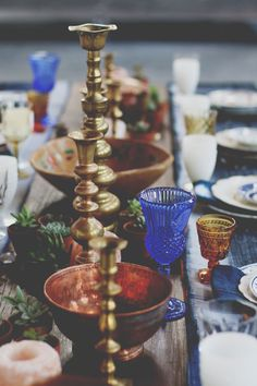 Vintage Tabletop Decor to Inspire Wedding Day Magic – Free People Blog | Free People Blog #freepeople