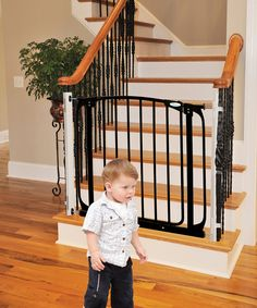 This Gate Adapter Panel Provides A Flat Surface To Install Child Safety  Gates Around The House. Designed For The Top And Bottom Of The Stairs, ...