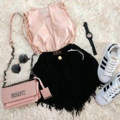Cuál es tu favorita 1 2 3 ❤😍 Etiqueta o menciona 😗 Sigan 👈 . Teenage Girl Outfits, Girls Fashion Clothes, Teen Fashion Outfits, Swag Outfits, Mode Outfits, Womens Fashion, Converse Outfits, Girl Fashion, Cute Summer Outfits