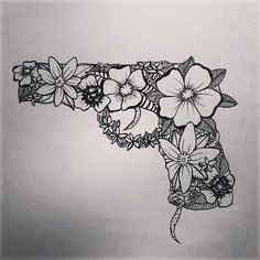 #gun #guntattoo #tattooidea #ink #tattoos #inked #art #tattooed #love…