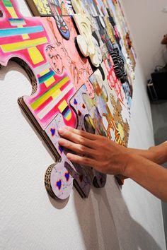puzzle piece art - Google Search