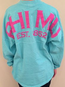 Mint and Hot Pink! Phi Mu Crafts, Hard To Be Humble, Gamma Phi Beta, Spirit Jersey, Sorority Life, Carnations, Confessions, Hot Pink, Cheer