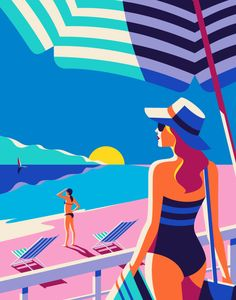 When travel company Kuoni France approached London-based French illustrator Malika Favre to help decorate its new travel brochure for 2016, she applied her usual unmistakable style – a sprinkling of bold...