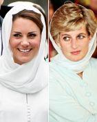 Princess Diana & Duchess Catherine