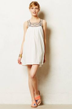 Toda Vista Swing Dress - anthropologie.com - just bought and LOVE it... perfect for my belly bump and after baby is born, too!