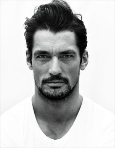 David Gandy for 100 Portraits Before I Die project by Giles Duley - EW Agency