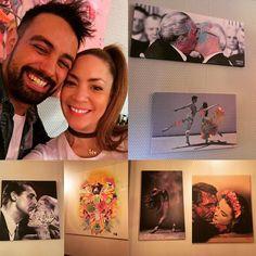 Estupendo trabajo!!! Estupendo tú mí Bellísimo @victorheras !! Felicidades por la Exposición y Felicidades por eso 33!! #expovictorheras #amigos #cumpleañosfeliz #loveyou #arte #cuadros